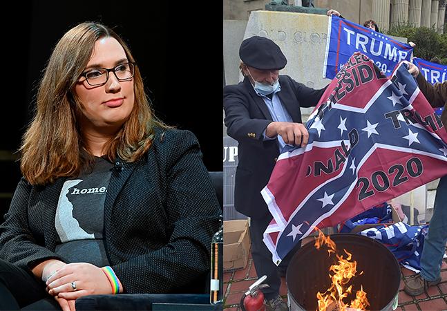 Eleição nos EUA: 1ª senadora trans, legalização da maconha, cogumelos mágicos e fim de símbolo racista