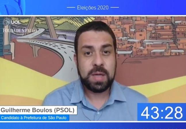 UOL diz que 'errou' ao impedir Guilherme Boulos de responder pergunta e encerrar debate