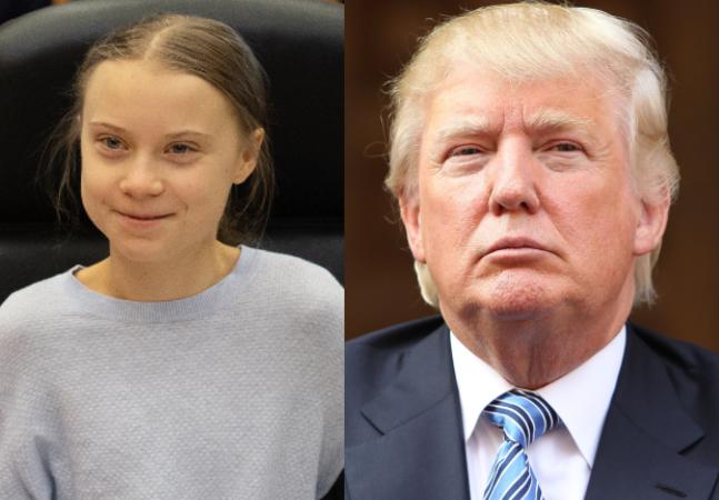 Greta Thunberg ironiza Donald Trump e mostra que riu por último e melhor