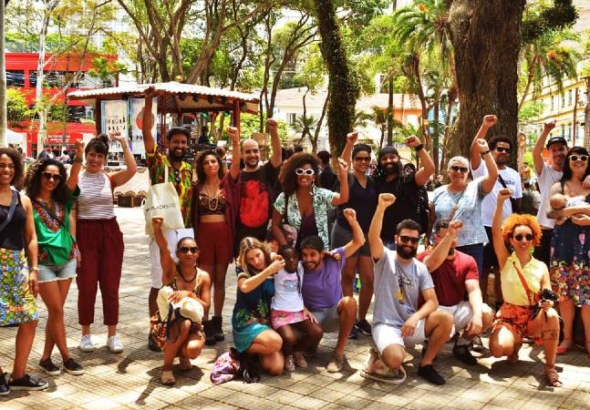 Projeto une caminhada e resgate da cultura e história negra em São Paulo