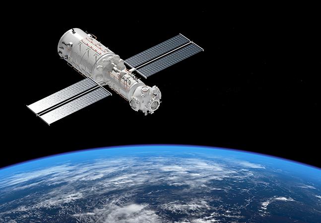Nasa mostra preocupação com colisão catastrófica entre constelação de satélites