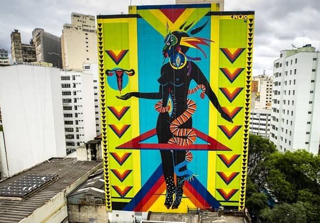 Morador aciona Justiça para apagar obra de artista renomada e mostra que cultura pede socorro