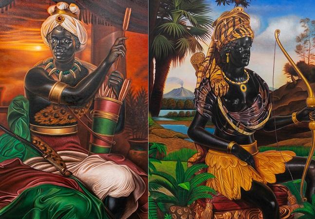 Artista subverte eurocentrismo racista com retratos incríveis de pessoas negras