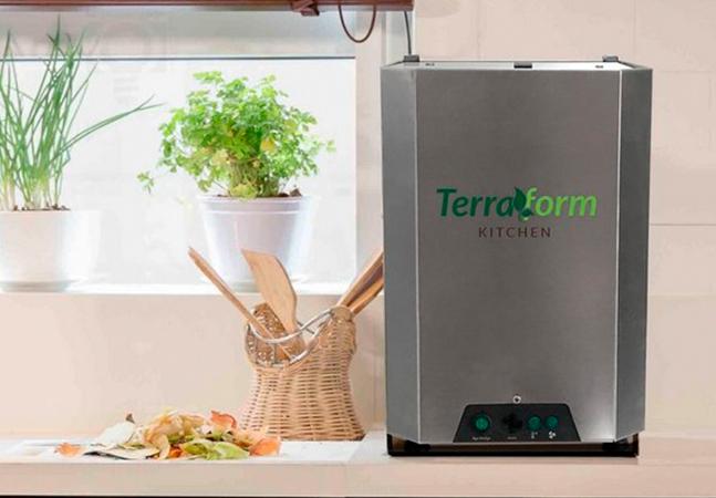 Composteira elétrica transforma restos orgânicos em adubo em 12 horas