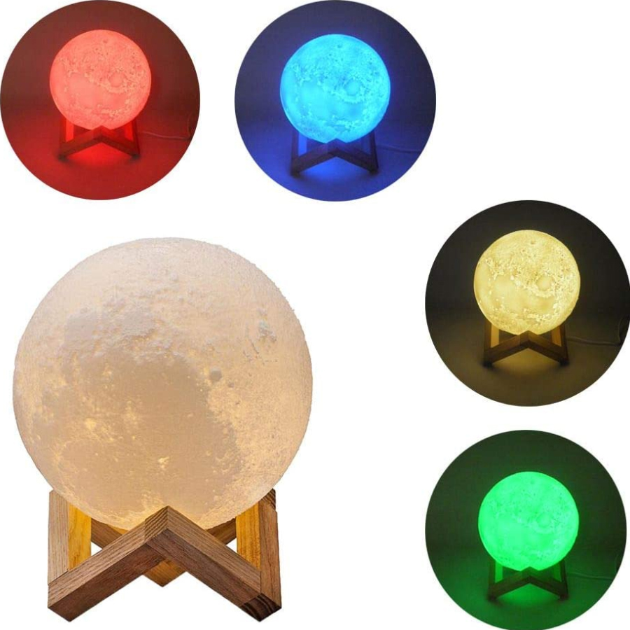 Luminária Lua Cheia - Amazon