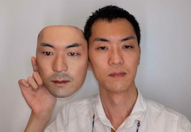 Sci-fi da vida real: empresa 'compra rostos' para fazer máscaras hiper realistas