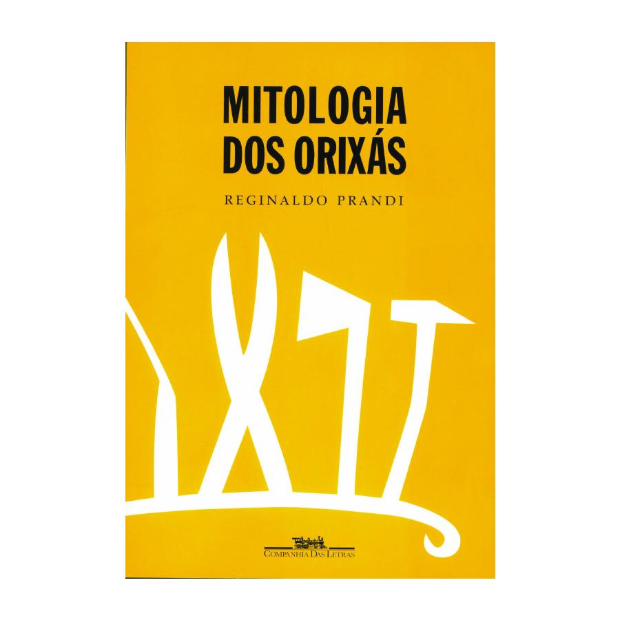 Capa do livro 'Mitologia dos orixás', de Reginaldo Prandi