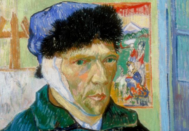 Van Gogh cortou própria orelha durante surto por falta de álcool, diz estudo inédito