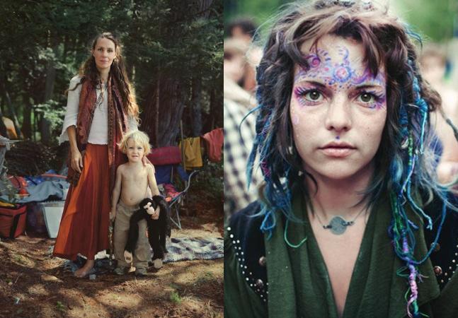 Fotógrafo retrata realidade secreta de grupo nômade com leis baseadas no amor