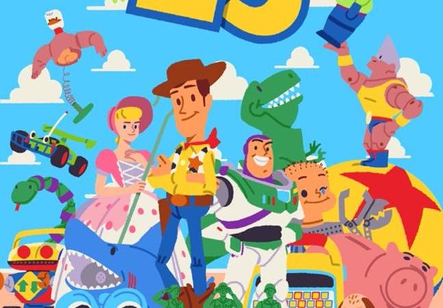 'Toy Story' celebra 25 anos com desenhos antigos de Woody, Buzz & cia
