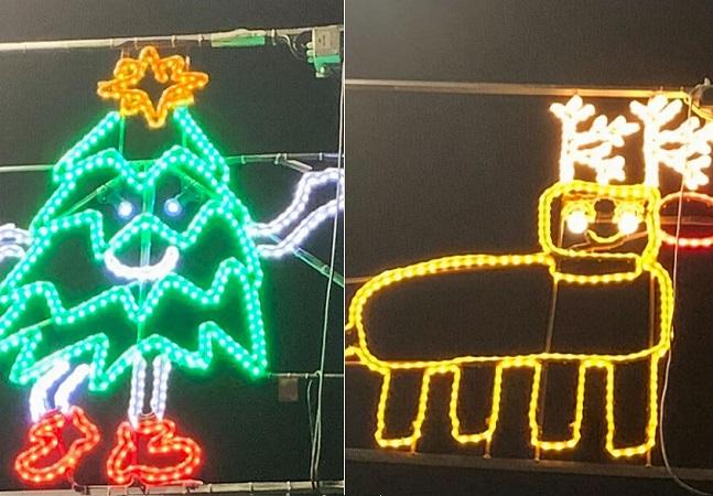 Cidade escocesa deixa crianças desenharem decoração de Natal oficial e resultado é maravilhoso