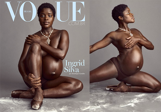 Ingrid Silva surge exuberante em nova capa da Vogue: 'Tem sido bonito'