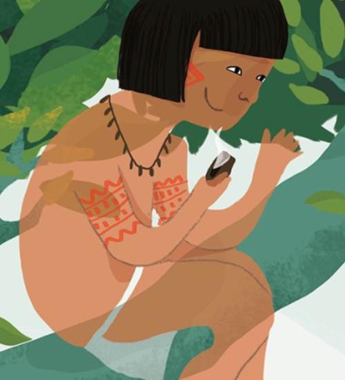 O Saci é indígena: origem parte da cultura Guarani e lendas têm grande influência africana