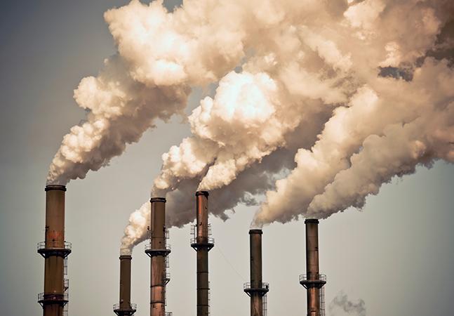 Concentração de CO2 aumenta em níveis recordes mesmo na pandemia