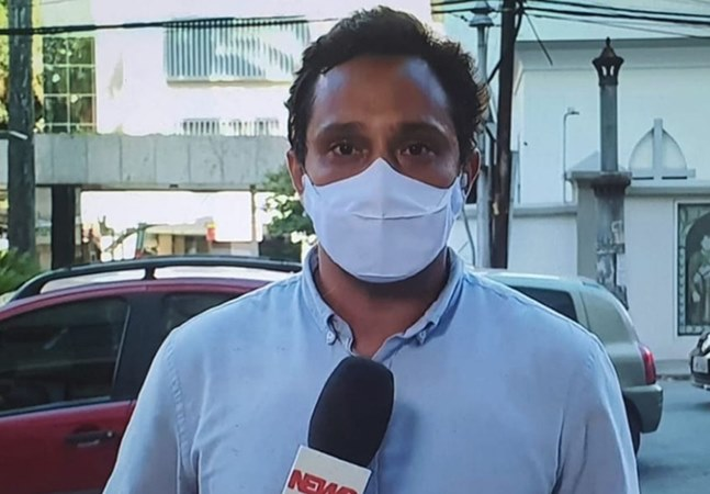 Repórter da Globo noticia morte de Nicette Bruno e chora por perda de mãe vítima de covid-19