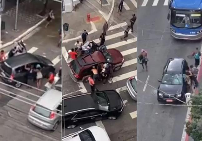 Carros atacados na Cracolândia mostram invisibilização e que guerra às drogas mira mais pobres