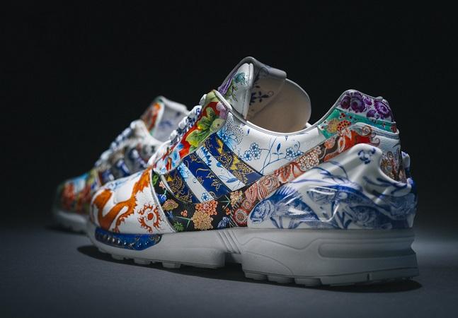 O Adidas de Porcelana pintado à mão que virou peça de museu