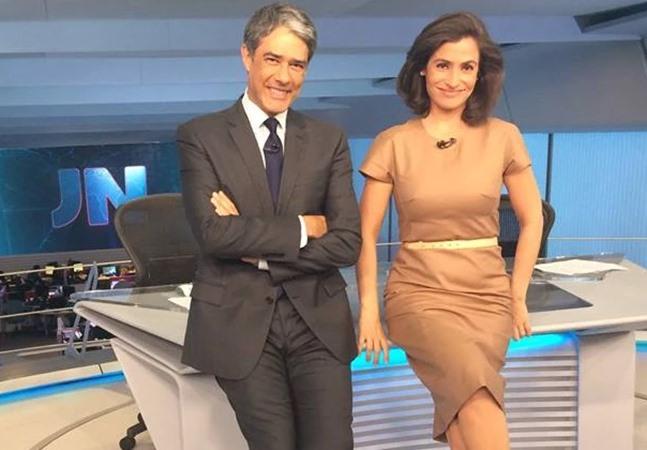 Bonner e Renata são intimados a depor após censura na Globo em caso de Flávio Bolsonaro e Queiroz
