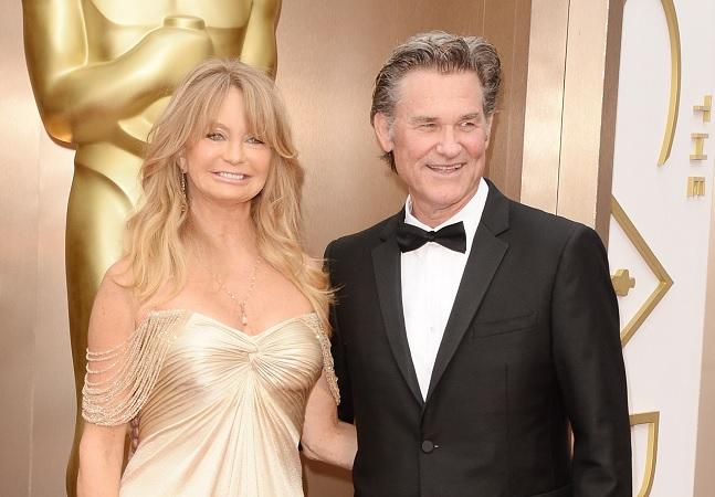 'Não é sobre casamento': Goldie Hawn e Kurt Russell 'namoram' há 37 anos