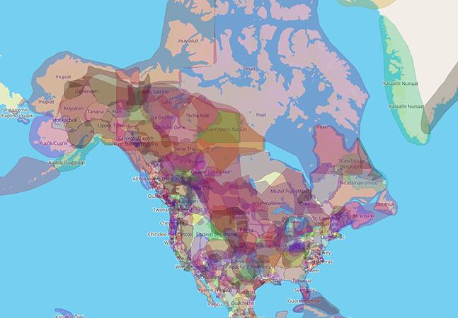 Mapa interativo mostra quais populações originárias viviam onde hoje são os países modernos