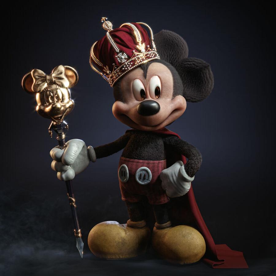 Mickey Mouse em 3D