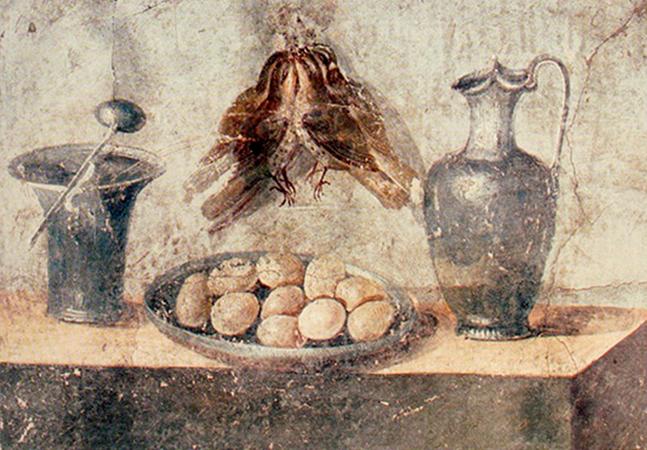 Como era o cardápio e os hábitos alimentares no antigo Império Romano?