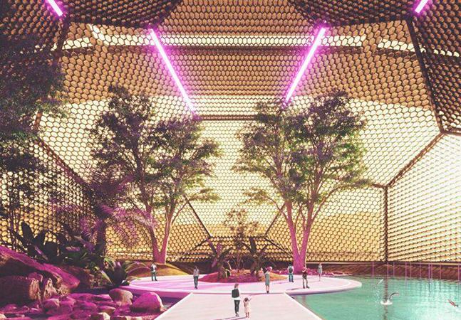 Nüwa: o projeto para uma cidade autossustentável em Marte