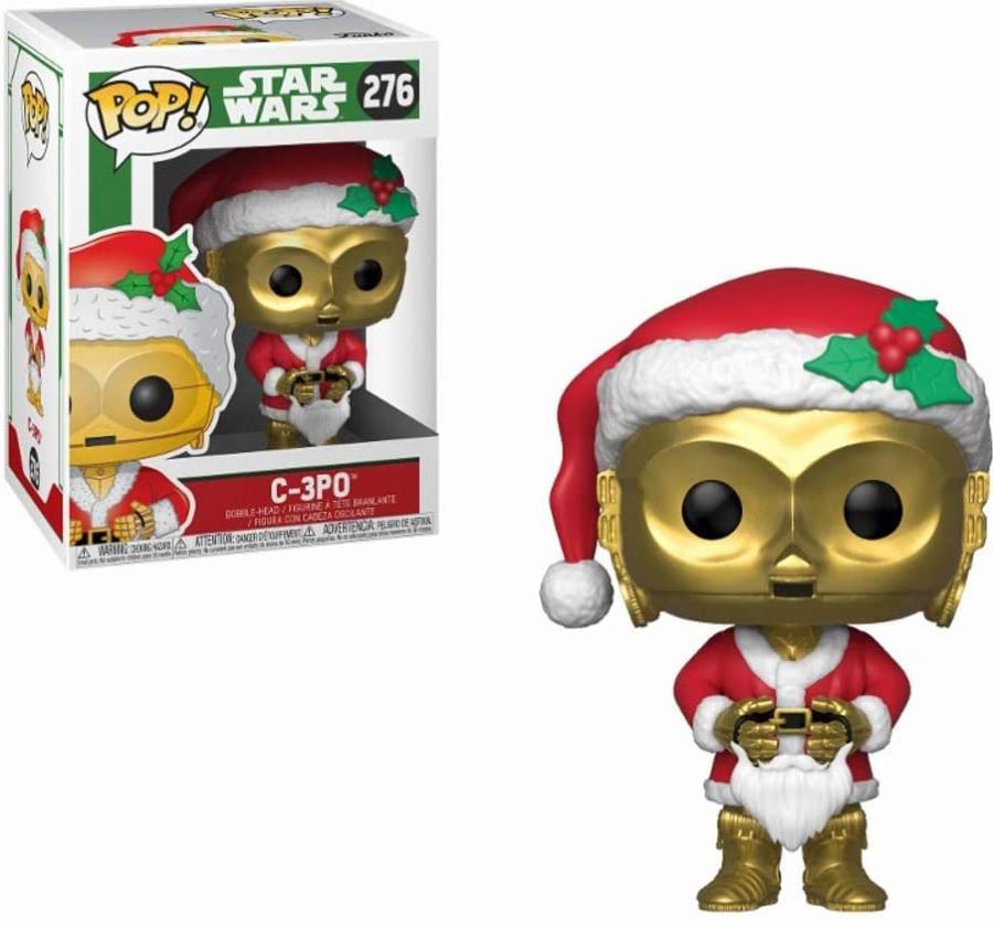 Funko Pop! do robô C-3PO, da saga 'Star Wars'
