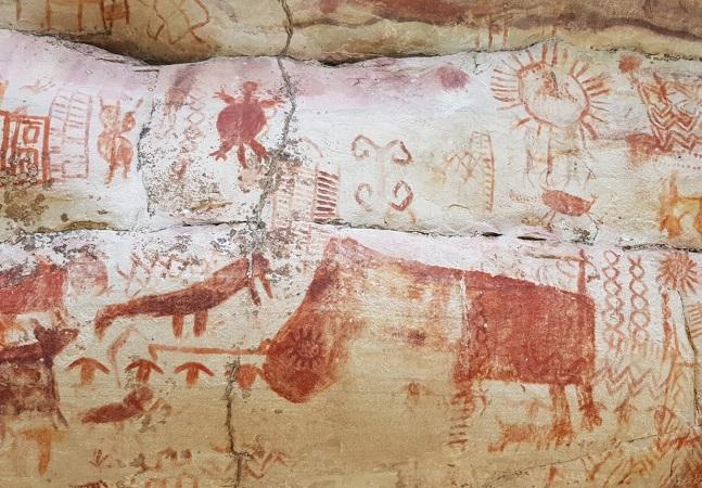 Arte rupestre: 'Capela Sistina pré-histórica' é descoberta nos confins da selva amazônica