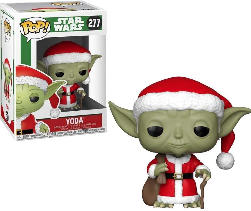 Funko Pop! do personagem Yoda, de Star Wars