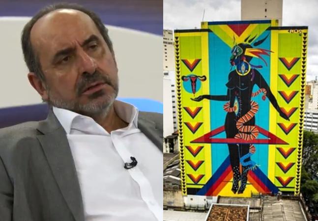 Kalil, prefeito de BH, diz ter 'dó desse boçal' ao falar de homem que acionou Justiça contra obra de artista negra