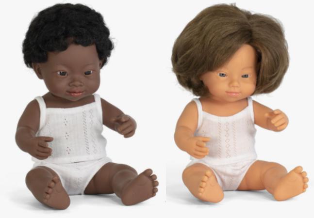 Bonecos com síndrome de Down são eleitos os melhores brinquedos do ano