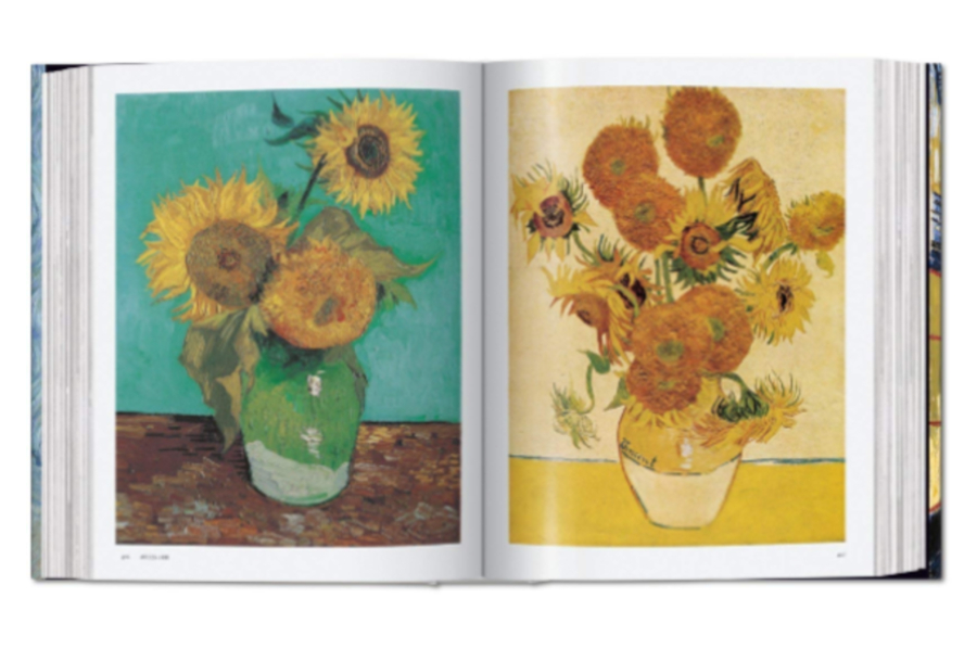 Livro 'Van Gogh: The Complete Paintings', por Ingo F. Walther e Rainer Metzger
