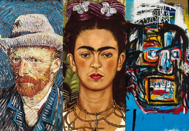 Van Gogh, Frida Kahlo, Basquiat: 3 edições especiais de livros de arte