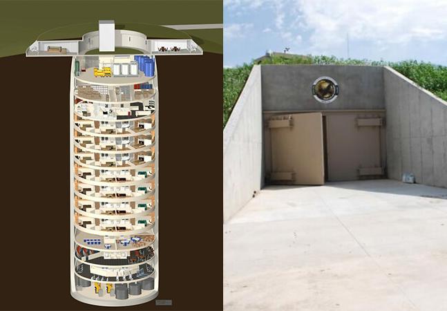 Por dentro de um bunker de sobrevivência de luxo de 3 milhões de dólares