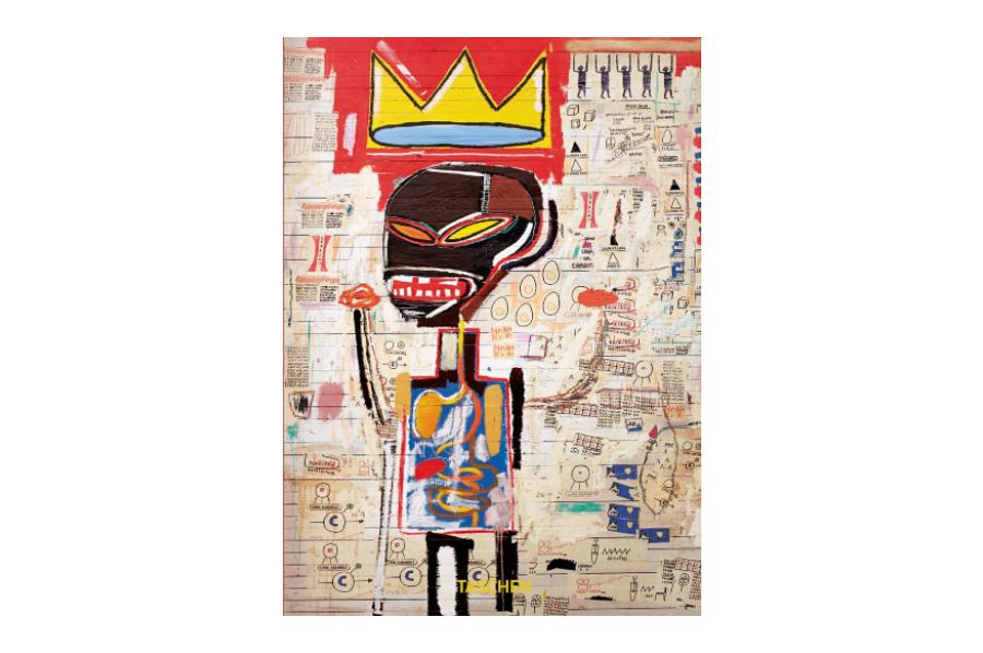 Capa do livro 'Basquiat: 40th Anniversary Edition'