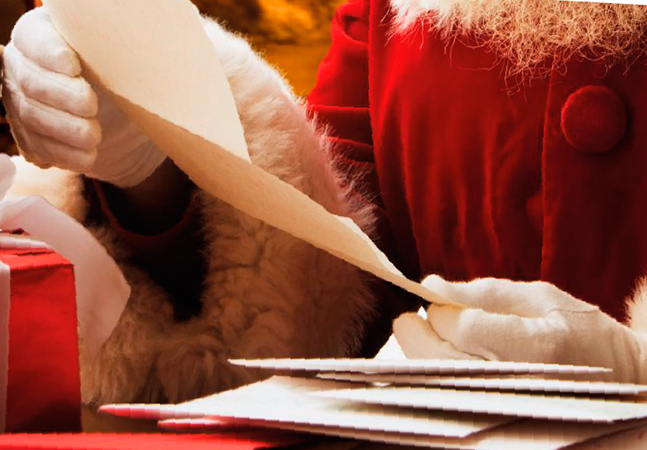 Pandemia não impede adoção de cartinhas para o Papai Noel; veja como ajudar