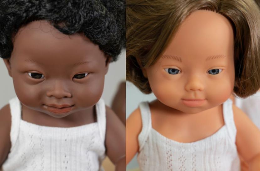 Bonecos de crianças com Síndrome de Down - Miniland