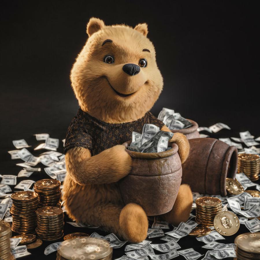 Ursinho Pooh em 3D