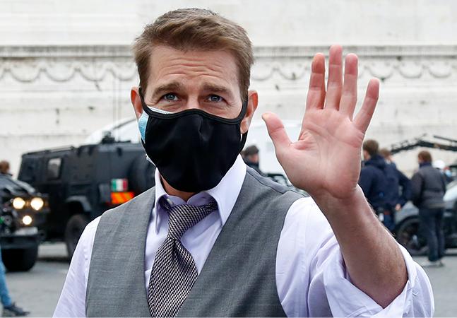 Tom Cruise critica protocolo contra covid-19 e parte da equipe de 'Missão Impossível' se demite