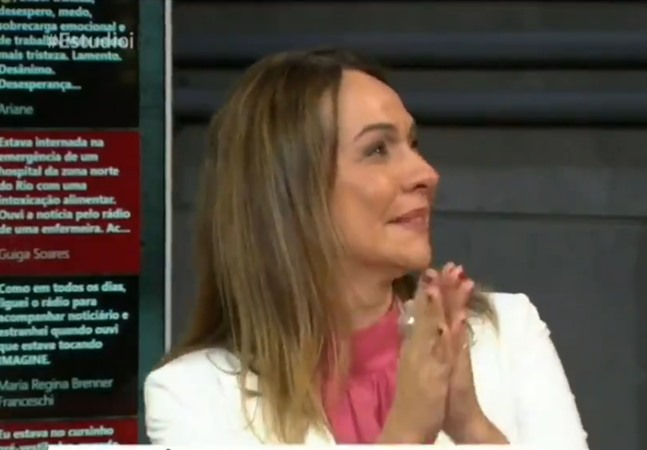Brasileira vacinada contra covid-19 no Reino Unido faz jornalista chorar ao vivo