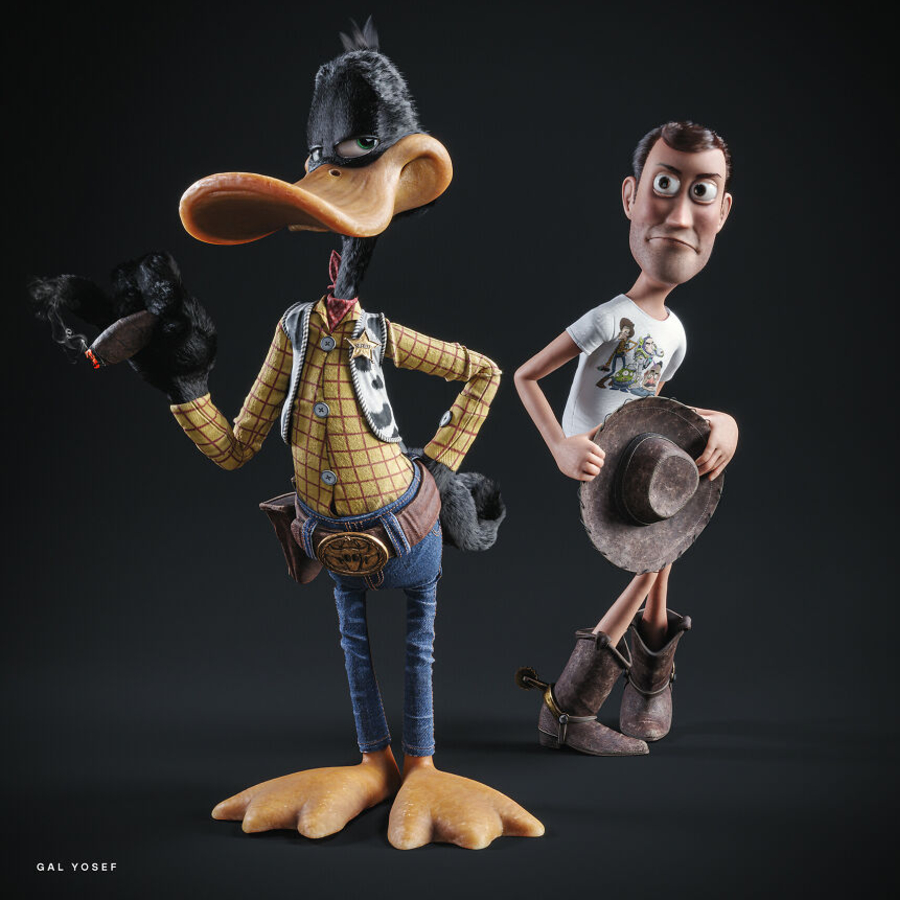 Patolino e Woody