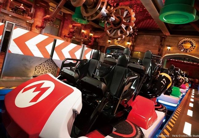 Super Nintendo World: vídeo mostra primeiras imagens de brinquedo inspirado em 'Mario Kart'