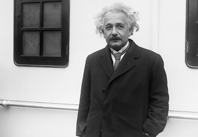 Homem no Tocantins registra boletim de ocorrência contra Albert Einstein