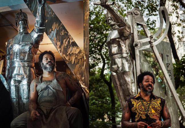 Tebas: o arquiteto negro que ajudou na reforma da Catedral da Sé ganha estátua em SP