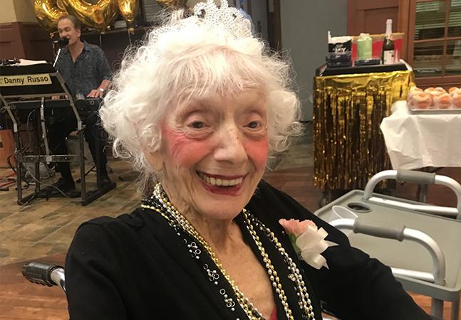 Aos 102 anos, ela sobreviveu à Gripe Espanhola e a covid-19 duas vezes