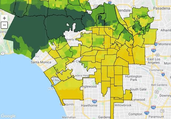 Google indica quais regiões das cidades precisam de mais árvores com ferramenta de mapeamento