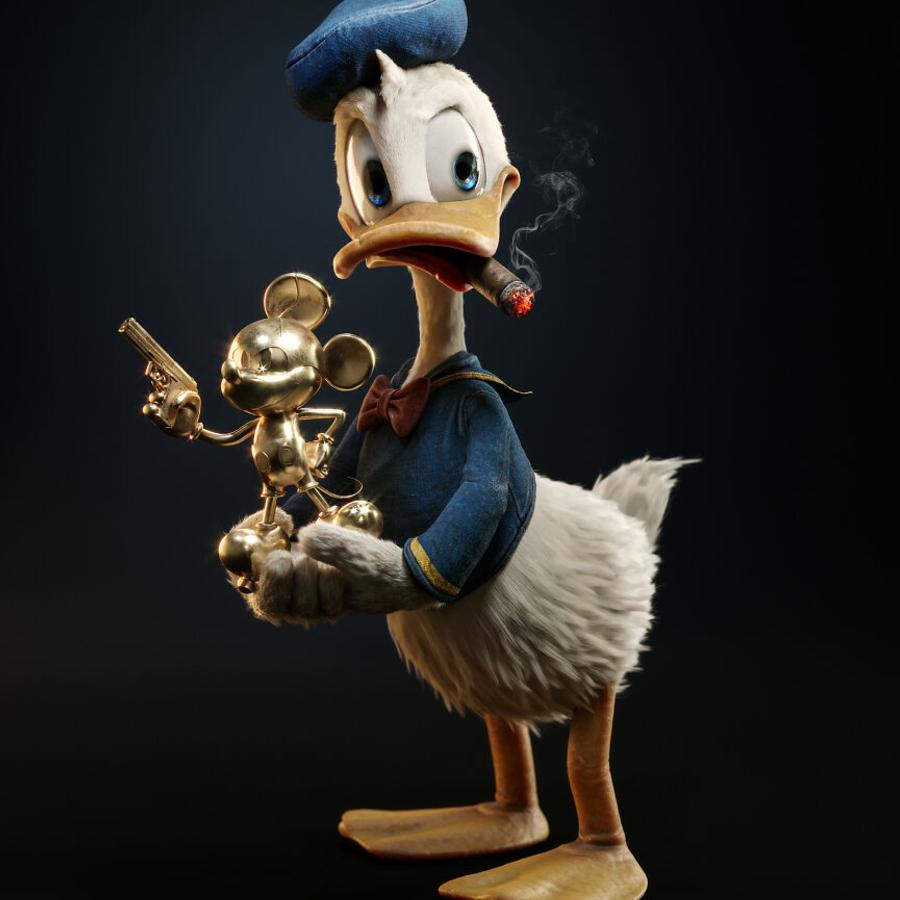Pato Donald em 3D