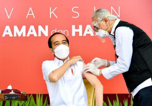 Influenciadores digitais estão na 1ª fila de vacinação contra covid-19 na Indonésia