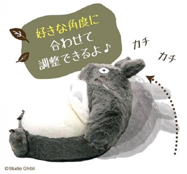 Ilustração da reclinação do sofá-dobrável do Totoro